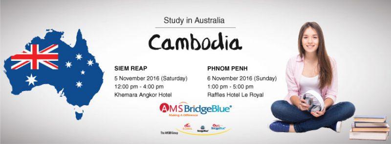 Study in Australia Expo Cambodia